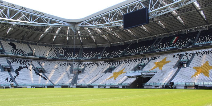 Interno dello Juventus Stadium