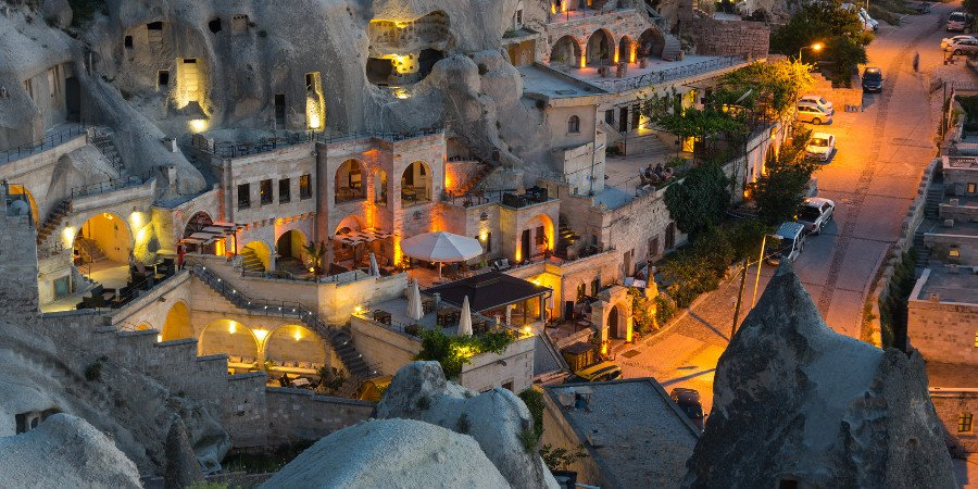 Goreme by night